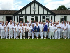 The two teams celebrating 90 years of bowling